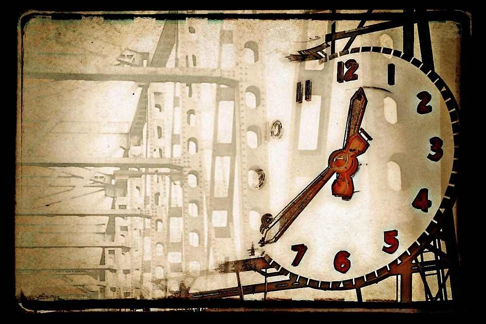 I-5 Bridge/Clock by maxygreat