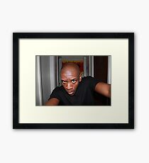 Photo of an Artist Framed Print