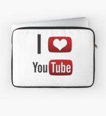 I Heart Youtube! Laptop Sleeve