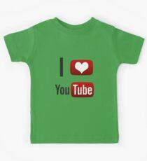 I Heart Youtube! Kids Tee