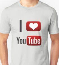 I Heart Youtube! Unisex T-Shirt
