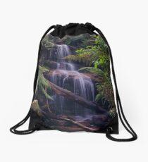 Ferntree Falls Flowing Drawstring Bag