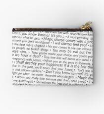 Once Upon A Time - Quotes Studio Pouch