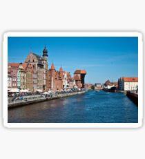 Gdansk ( Danzig ) - Poland   Sticker