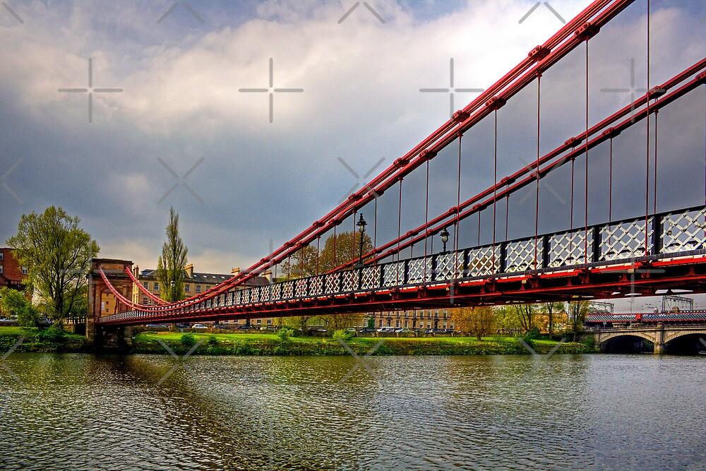 South Portland Street Suspension Bridge by Tom Gomez