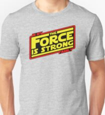 The force is strong... Retro Empire Edition T-Shirt