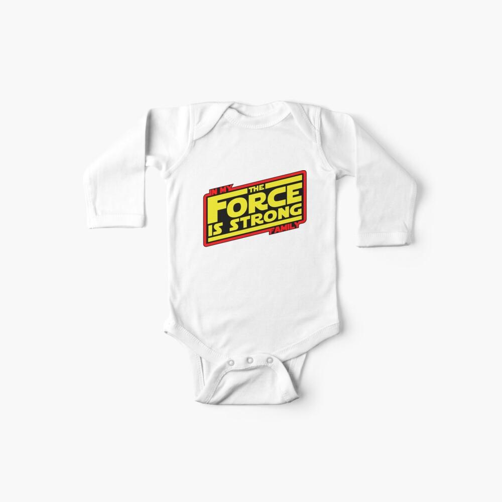 Die Kraft ist stark ... Retro Empire Edition Baby Bodys