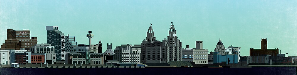 Liverpool 8-Bit by dabwood