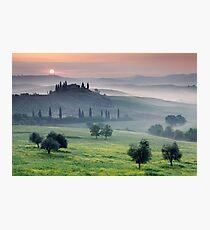 Tuscan Morning Photographic Print