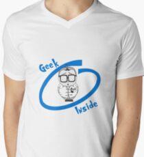 Geek Inside  Men's V-Neck T-Shirt