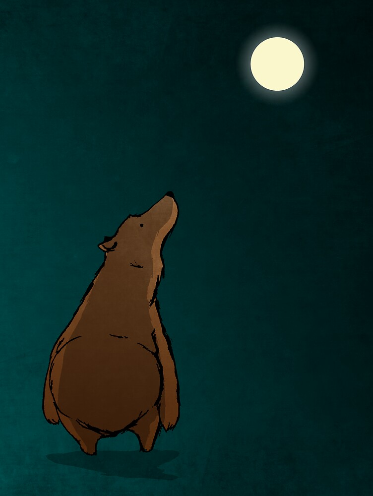 Bear (Moon) by dabwood