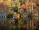 Fall Fisherman by Carolyn  Fletcher