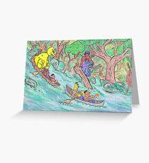 Sesame Street Deliverance Greeting Card