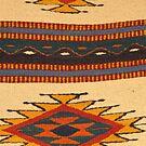 Traditional Design of a Rug from Oaxaca - Deseño Traditional de un Tapete de Oaxaco by PtoVallartaMex