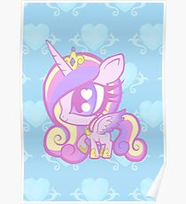 Weeny My Little Pony- Princess Cadence Poster
