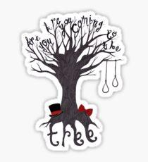 The Hanging Tree Sticker
