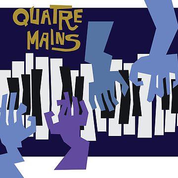 Quatre Mains by mimmam