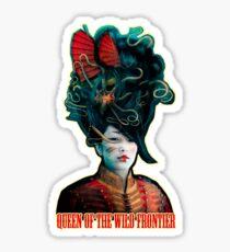 Queen of the Wild Frontier T-Shirt Sticker