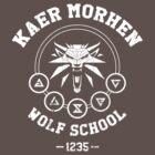 Kaer Morhen Wolf School by MetalZebra