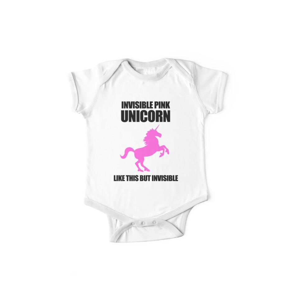 Invisible Pink Unicorn by jezkemp