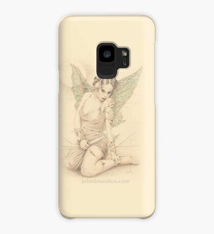 """Fairy Warrior"" Colour Pencil Artwork Case/Skin for Samsung Galaxy"