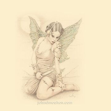 """Fairy Warrior"" Colour Pencil Artwork by jdm-art"