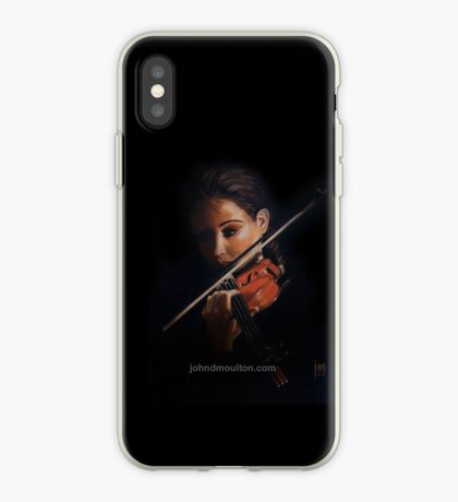 """Violin"" Oil on Canvas iPhone Case"