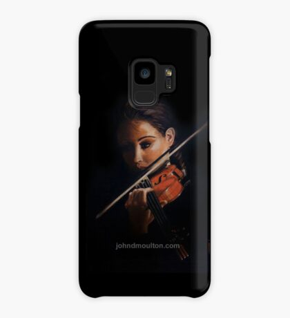 """Violin"" Oil on Canvas Case/Skin for Samsung Galaxy"