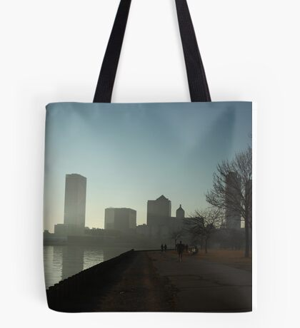Milwaukee a city with a Harbor Tote Bag
