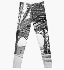 Legging Vintage Photograph of the Williamsburg Bridge