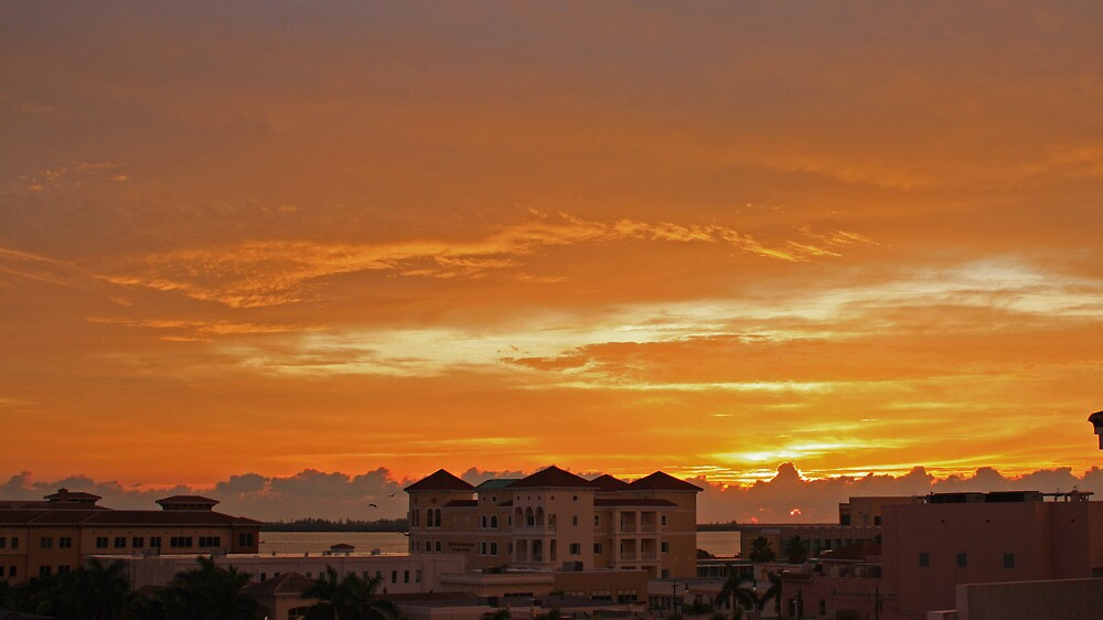 sunrise over ft pierce by cliffordc1