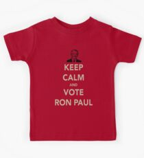 KEEP CALM AND VOTE RON PAUL Kids Clothes