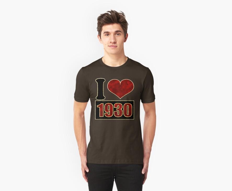 I love 1930 by Nhan Ngo