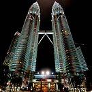 Twin Towers by Antonio Zarli
