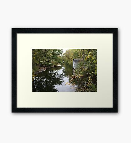 The Oconomowoc River Framed Print