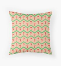 Seventh Doctor Pattern Throw Pillow