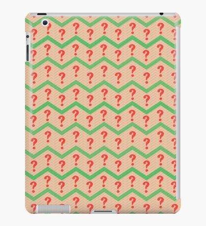 Seventh Doctor Pattern iPad Case/Skin