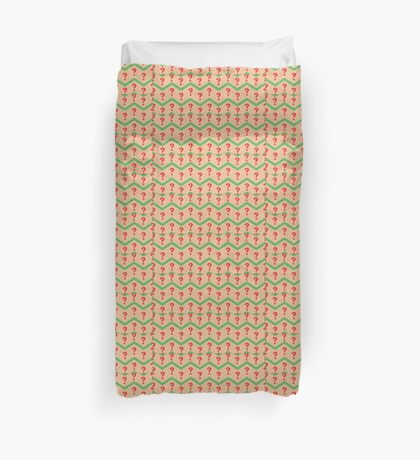 Seventh Doctor Pattern Duvet Cover