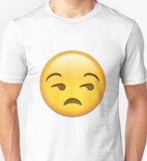 Unamused Emoji Collection Unisex T-Shirt
