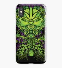 Marijuana Love Tree iPhone Case
