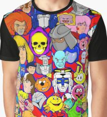saturday morning collage Graphic T-Shirt