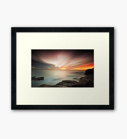Light Play Framed Print