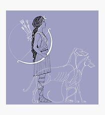Lámina fotográfica Artemisa