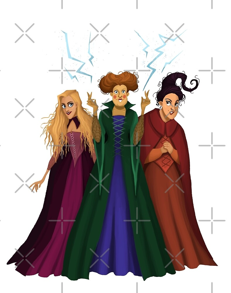 Sanderson Sisters by Tally Todd