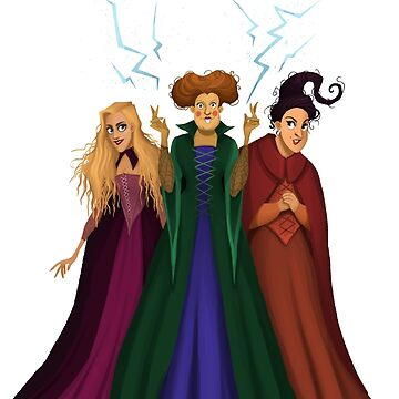 Sanderson Sisters by Tally-Todd