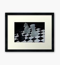 Chess Challenge Framed Print