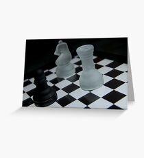 Chess Challenge Greeting Card