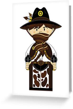 "Cute ""Wild West' Cowboy Sheriff by MurphyCreative"