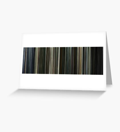 Moviebarcode: The Last Circus / Balada triste de trompeta (2010) Greeting Card