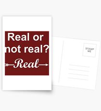 Hunger Games Real or Not Real 2 Postcards